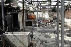 Incendio di un ristorante di Fano, coinvolto un malavitoso di Barletta