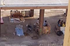 Sgomberata famiglia rumena accampata nella stazione di Barletta