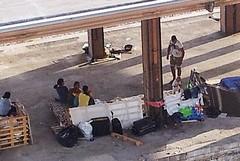 Sgomberato l'accampamento Rom presso lo scalo FS