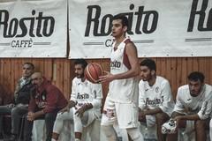 Rosito Barletta, niente da fare per i biancorossi. 87-109 il finale