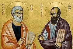 «Tu sei Pietro e su questa pietra edificherò la mia Chiesa»
