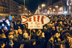 Le Sardine a Barletta, il 25 gennaio l'evento in piazza Caduti