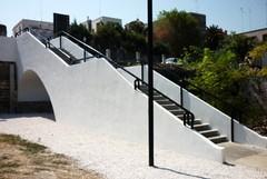 Via Mura del Carmine: concluso il risanamento della scalinata