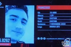"""Nuova scomparsa ad Andria su """"Chi lo ha visto"""": si tratta di un 16enne"""