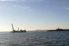 Carotaggio in corso al porto di Barletta