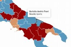 Nuovo parametro per le scuole, ecco perché a Barletta resteranno aperte