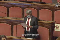 L'intervento del senatore Ruggiero Quarto