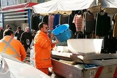 Sequestrati prodotti ittici al mercato di Largo San Nicola