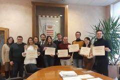 Incontro tra il sindaco di Barletta e i volontari del Servizio civile