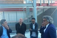 """Stadio """"Puttilli"""" di Barletta, sopralluogo del sindaco Cannito e dei tecnici comunali"""