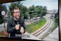"""Lavori in via Andria, arriva Pinuccio di """"Striscia la notizia"""""""
