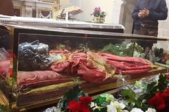 Le spoglie di Santa Lucia a Barletta: «Il ricordo della santa dopo secoli è vivo nel cuore dei fedeli e di tutta la comunità religiosa»