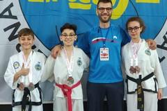 Taekwondo, gli atleti della Bat tornano a casa con cinque medaglie