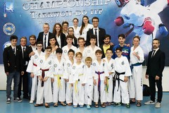 "Taekwondo, la ""Federico II"" protagonista a Velletri"