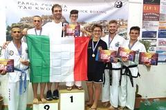 Taekwondo, argento e bronzo agli Europei per Fitsport Italia