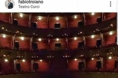 """Fabio Troiano posta il """"Curci"""" di Barletta su Instagram: «Si torni a parlare di teatro»"""