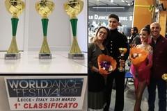 """I fratelli Tesse di Barletta conquistano 3 ori al """"World Dance Festival"""""""