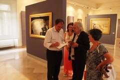 Il sindaco Cascella accoglie William Tode a Palazzo della Marra