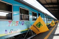 L'ecologia fa tappa a Barletta col Treno Verde di Legambiente