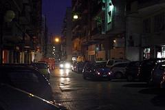 Black out notturno, Barletta al buio per dieci minuti