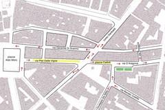 Chiusura Piazza Caduti, arriva la proposta del Comitato per la Mobilità Sostenibile