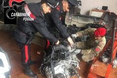 Auto rubate a Barletta, arrestati i due pregiudicati cerignolani