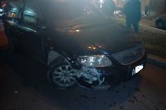 Ubriaco alla guida, caos in Piazza Principe Umberto