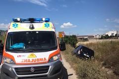 Incidente sulla Andria-Barletta, automobile esce fuori strada