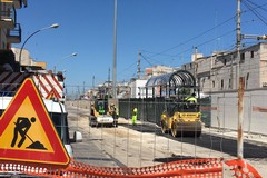 Sta per riaprire via Fracanzano, in dirittura d'arrivo anche il sottovia pedonale