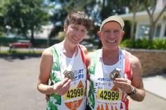 1000 maratone per il barlettano Michele Rizzitelli