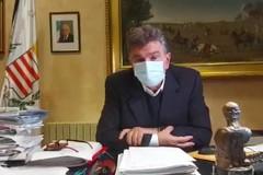 Impennata di contagi Covid-19, il messaggio del sindaco Cannito