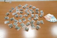 Soldi e marijuana, in arresto un 19enne di Barletta