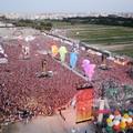 Jova Beach Party, «oggi, un anno fa, Barletta»