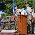 """Cambio del comandante dell'82° Reggimento Fanteria  """"Torino """" a Barletta"""