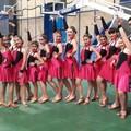 """Campionati di danza a squadre, tre ori per la  """"Non solo latino """" di Barletta"""