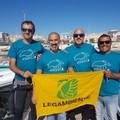 I volontari di Legambiente Barletta liberano in mare tre tartarughe