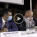 Antonio Decaro al fianco di Filippo Caracciolo per la sua riconferma in Regione