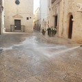 Pulizia straordinaria del centro storico di Barletta