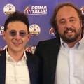 L'europarlamentare della Lega Massimo Casanova in visita a Barletta