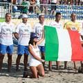 """Barletta, finale di  """"Coppa del Mediterraneo """" di beach soccer. In campo Italia e Olanda"""