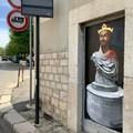 """Borgiac colpisce ancora con Federico II  """"a spasso """" per il centro di Barletta"""