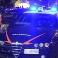 Incidente all'angolo tra via Vitrani e via Libertà, una Fiat Punto distrutta