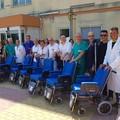 Nuove carrozzine anche per i pazienti dell'ospedale di Barletta
