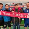 Futsal Barletta: tesserati Claudio Ortuso, Norman Nata e Michele Palumbo