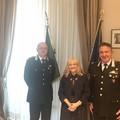 Visita in Prefettura per il Comandante dei Carabinieri Forestali in Puglia