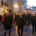 Corteo contro le mafie, Damiani: «In prima linea per combattere l'illegalità»