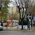 Buio in Piazza  Federico di Svevia, e senza addobbi di Natale