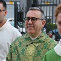Don Rino Caporusso arriva alla parrocchia di San Paolo Apostolo
