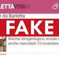 Scuole chiuse domani a Barletta? È una fake news ed è virale su Whatsapp