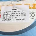 Coronavirus, il tarallificio Ester di Barletta dona 4000 euro e farina all'Asl Bt